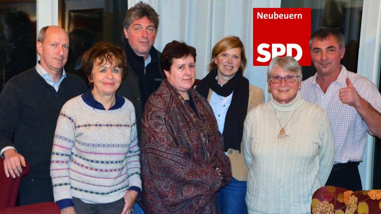 Mitglieder SPD Neubeuern 16:9 mit Logo